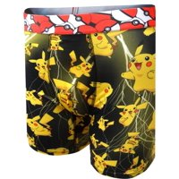 Nintendo Men's Pokemon Pikachu Performance Boxer Briefs