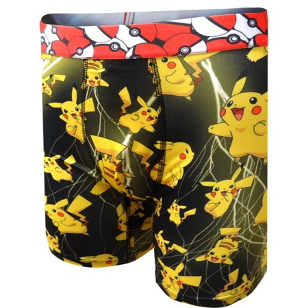 Pokemon Pikachu Performance Boxer Briefs](Pokemon Misty Underwear)
