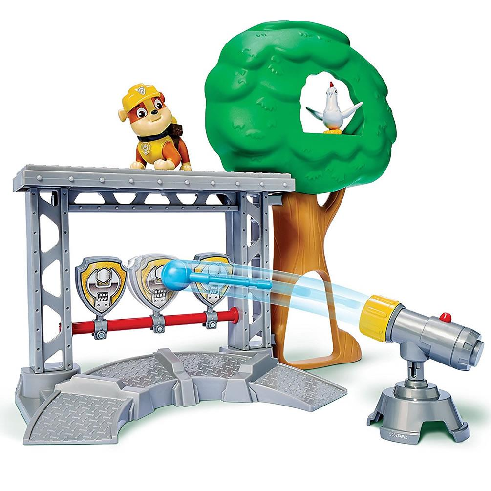 Paw Patrol Rubble's Activity Training Center Target Playset Game Spin Master 12010520