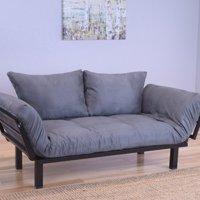 Kodiak Furniture Spacely Convertible Lounger Futon and Mattress