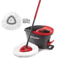 O-Cedar EasyWring Spin Mop w/ Extra Refill