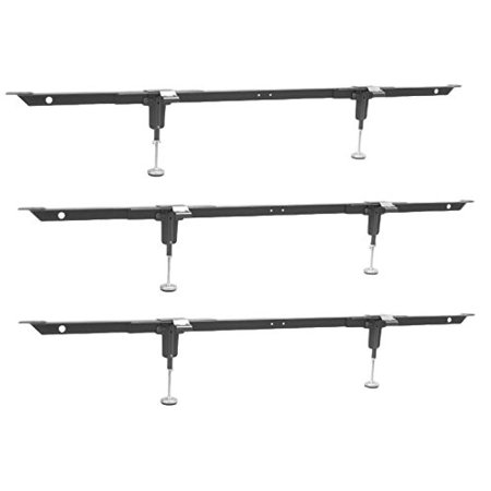 Steel Support Beam - True Choice Lift Ease Steel Bed Support System With 3 Cross Supports With 2 Adjustable Legs Each