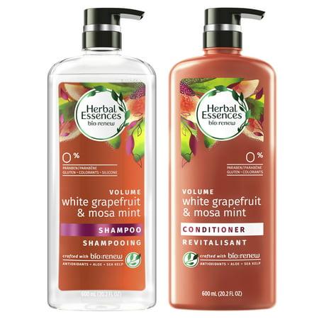 Herbal Essences Bio:Renew White Grapefruit & Mosa Mint Shampoo and Conditioner Set, 20.2 fl oz Each