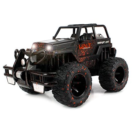 Velocity Toys Mud Monster Jeep Wrangler Convertible Electric Rc Off