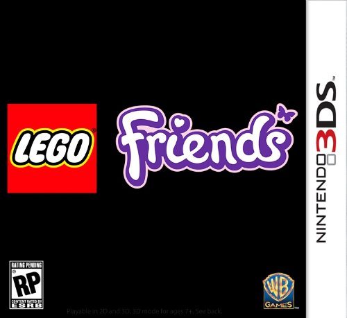 Wb Lego Friends - Simulation Game - Cartridge - Nintendo 3ds (1000394564)