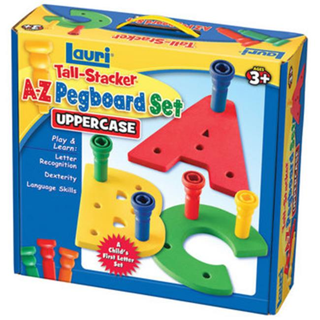 Patch Products 2322 Tall-Stacker A-Z Pegboard Set - Uppercase