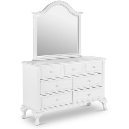 Tropical Island Dresser Mirror - Picket House Furnishings Jenna Dresser and Mirror Set