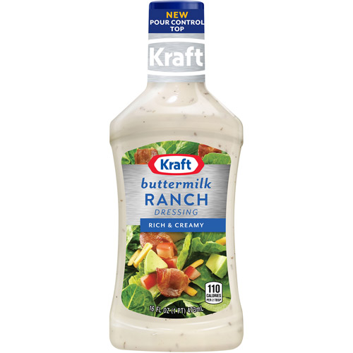 Kraft Salad Dressing: Dressing & Dip Buttermilk Ranch, 16 Fl Oz