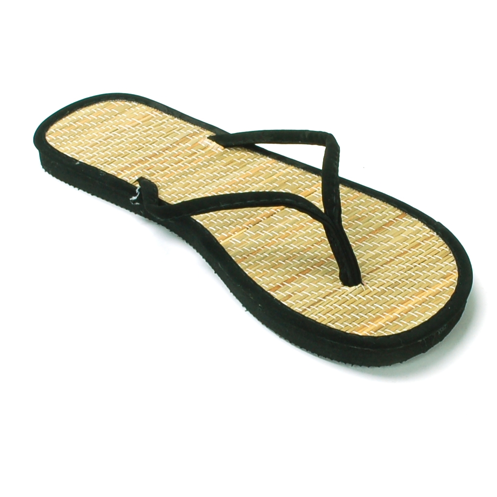 b6858fd21e1c0 L.A. Beauty - Womens Bamboo Sandal Flip Flops Light Flats Beach Summer Shoe  Comfort Thongs New - Walmart.com
