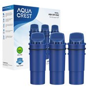 AQUACREST CRF-950Z Pitcher Water Filter Replacement for Pur CRF-950Z, Fits Pur Pitchers and Dispensers(Pack of 3),Package May Vary