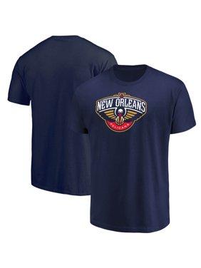 Men's Majestic Navy New Orleans Pelicans Victory Century T-Shirt