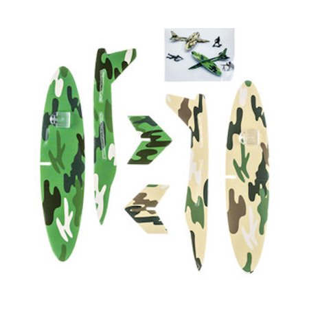 Camouflage Green Army Glider Favors Party Supplies Special Events 12 Count](Army Party)