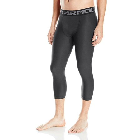 ed61649a8b905 Under Armour - under armour men's heatgear armour compression leggings,  black/graphite, large - Walmart.com