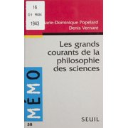 Les Grands Courants de la philosophie des sciences - eBook