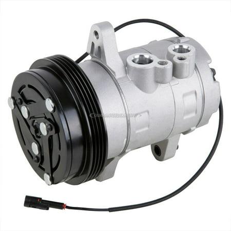 AC Compressor & A/C Clutch For Geo Tracker Suzuki Sidekick Chevy (Geo Clutch Cable)
