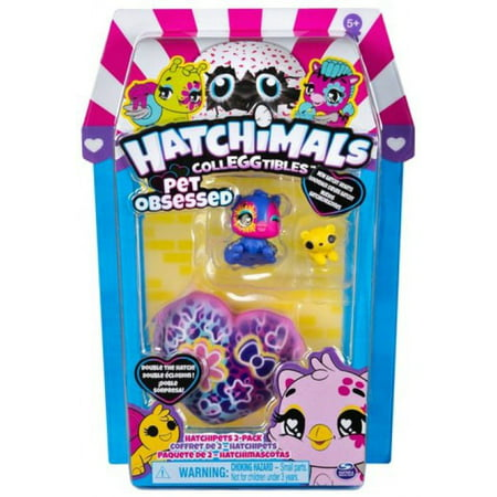 Hatchimals Pet Obsessed Hatchipets Mystery 2-Pack