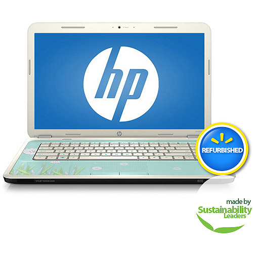 "HP Refurbished Dandelion Breeze 15.6"" g6-1d89wm Laptop PC with AMD Dual-Core E-450 Accelerated Processor and Windows 7 Home Premium"