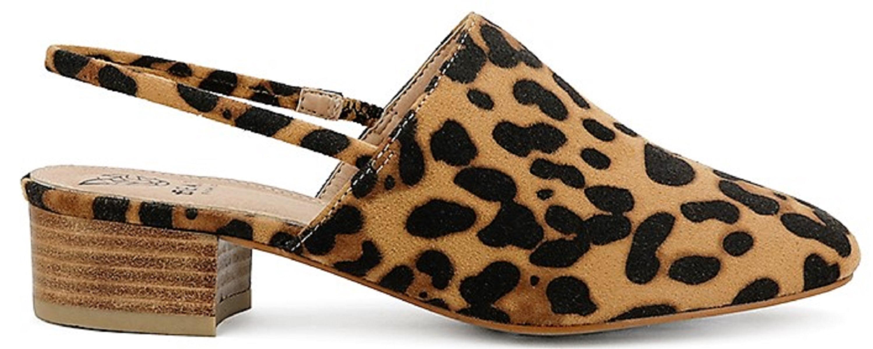 beast fashion shoes leopard