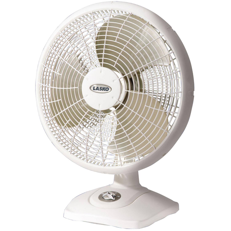 "Lasko 16"" Oscillating Performance Table 3-Speed Fan, Model #2506, White"