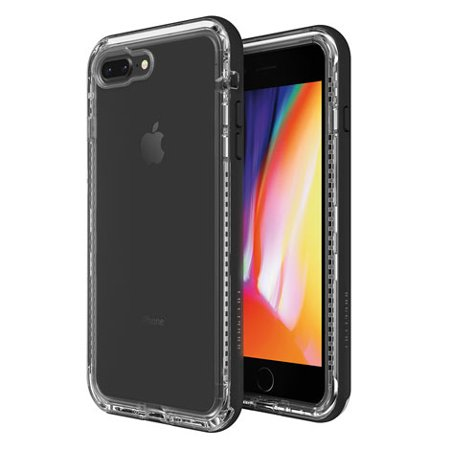 Next for iPhone 8 Plus and iPhone 7 Plus Case, Black Crystal