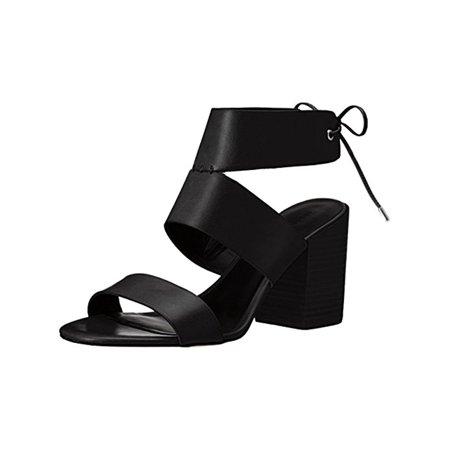 6f13a7aeee0 Rebecca Minkoff - Rebecca Minkoff Womens Christy Open Toe Block Heels Black  6 Medium (B