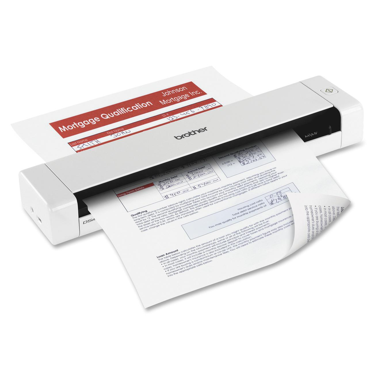 Brother DS720D Mobile Color Page Duplex Scanner