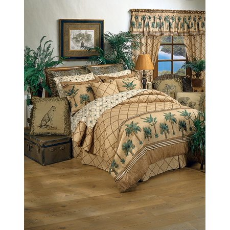 Kona Tropical Themed Bedding Set Twin Size