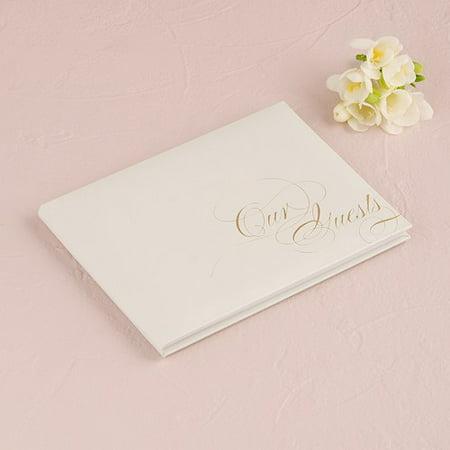 True Love Guest Book - Weddingstar 9459-77 Pure Elegance Special Occasion Guest Book Silver
