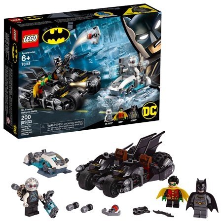 LEGO DC Batman Mr. Freeze Batcycle Battle 76118 Building Kit (200 Piece)](Lego Batman Walk)