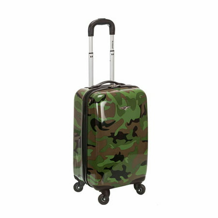 "Rockland Luggage 20"" Vision Polycarbonate Carry-On"