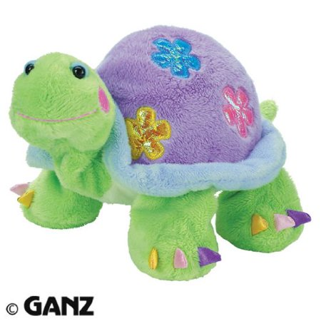 Daisy Tortoise, Comes with activation code for online games and a virtual version of this stuffed animal By Webkinz Ship from US