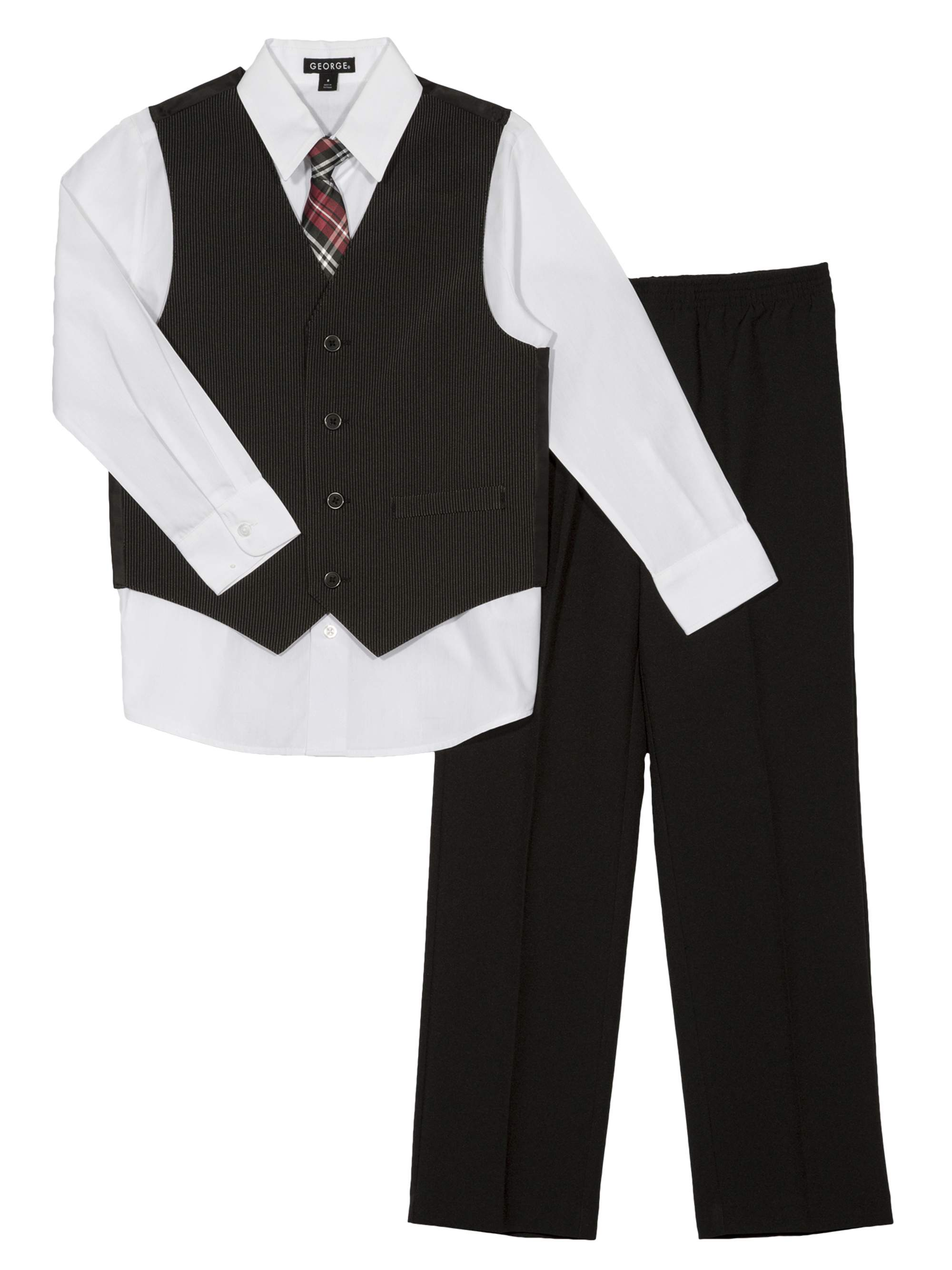 Boys' Narrow Stripe Special Occasion Dress Outfit Set