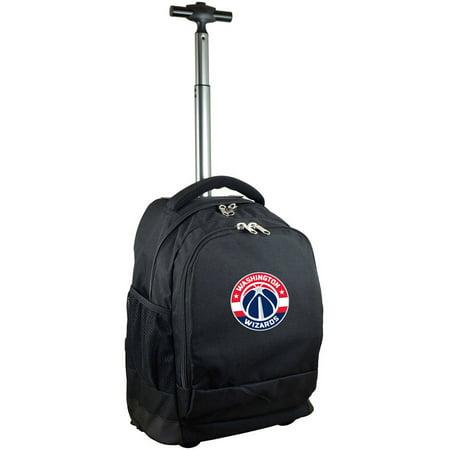 Mojo Licensing Premium Wheeled Backpack - Washington Wizards