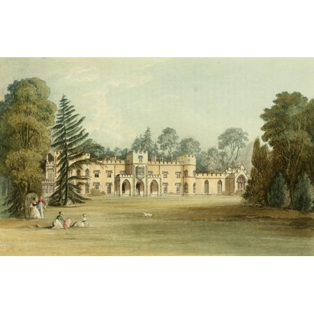 Mission Lodge Arts - Repository of Arts 1817 Sophia lodge Stretched Canvas - J Gendall (18 x 24)