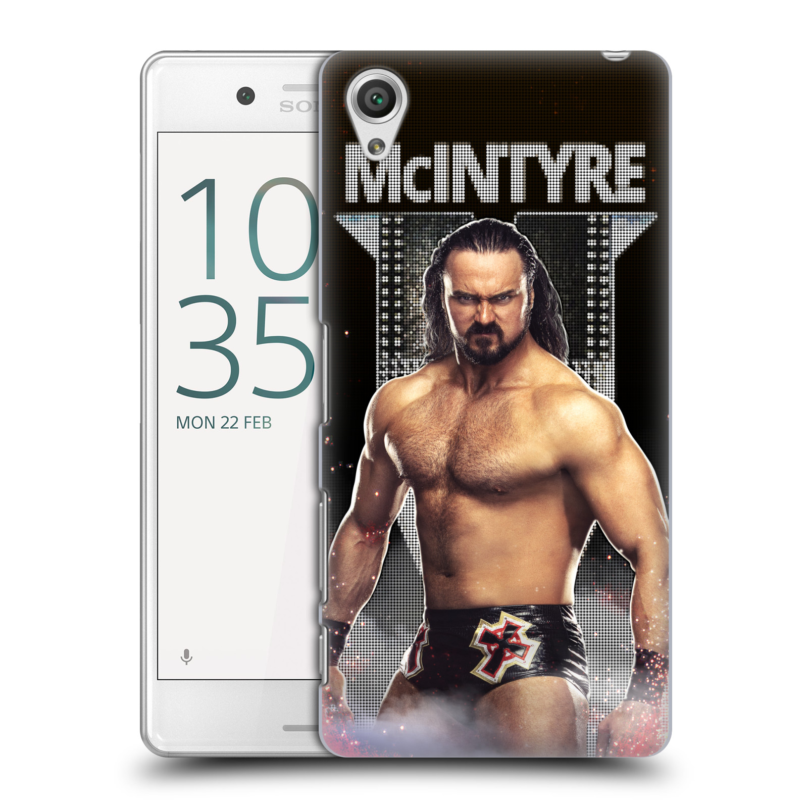 OFFICIAL WWE DREW MCINTYRE HARD BACK CASE FOR SONY PHONES 1