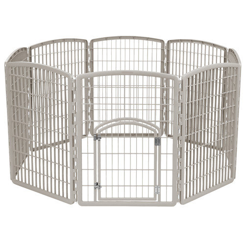 IRIS USA, Inc. 34'' Indoor/Outdoor Plastic Pet Pen