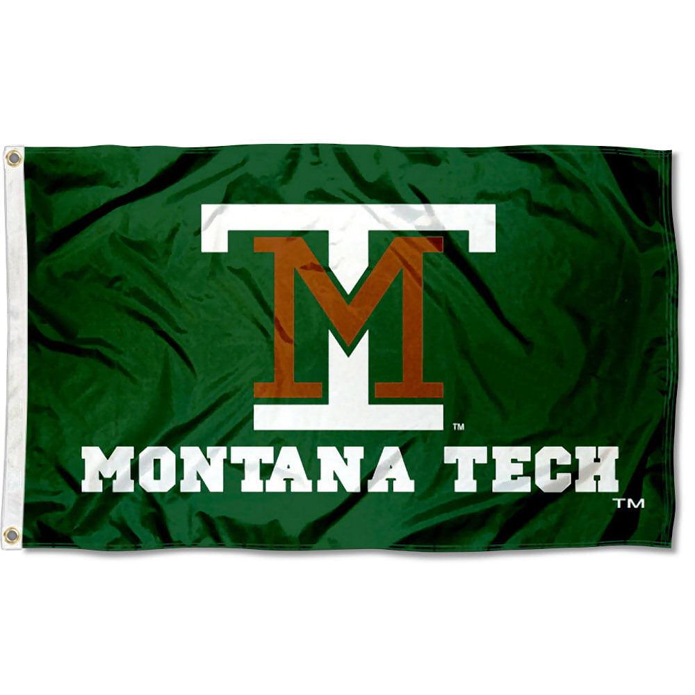 Montona Tech of the University of Montana Diggers Flag