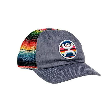 f992a054c3dc1 HOOey Hat Womens Trucker Cap Serape Stripe Print One Size Gray 1579T -  Walmart.com