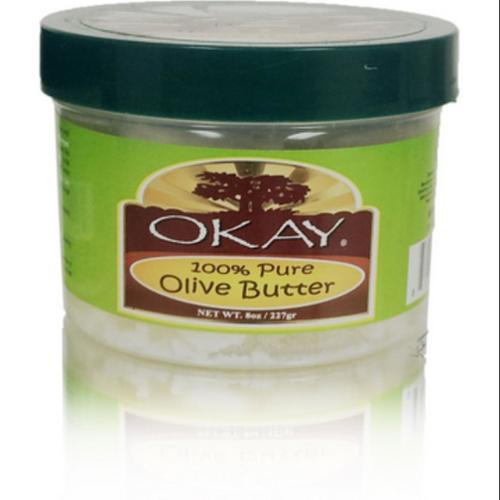 Okay Olive Butter 100% Pure Chunks, 8 oz