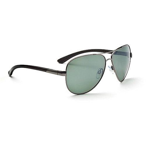 Optic Nerve Arsenal Polarized Wire Sunglasses Silver 21293