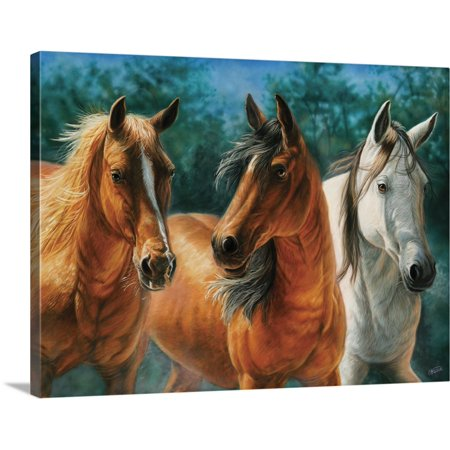 Great BIG Canvas | Cory Carlson Premium Thick-Wrap Canvas entitled Trio
