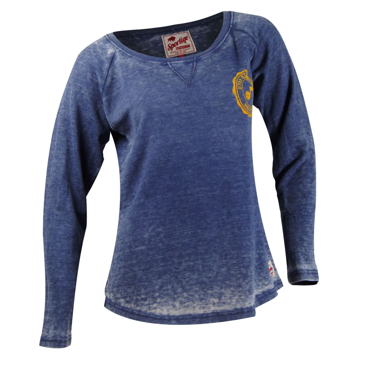 Utah Jazz NBA Womens Anna Stearns Long Sleeve T-Shirt (Navy)