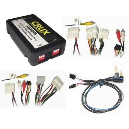CRUX Radio Replacemnt w/SWC & JBL Amp Retention for Toyota/Lexus ...