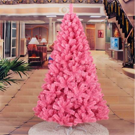 Artificial Christmas Tree Sizes.Four Sizes 1 95ft 2 95ft 3 9ft 5ft Pink Artificial Christmas Tree Diy Decoration