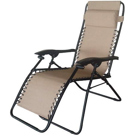 Bungee folding chaise lounge tan - Folding outdoor chaise lounge ...