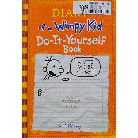 Diary of a wimpy kid do it yourself book walmart solutioingenieria Image collections