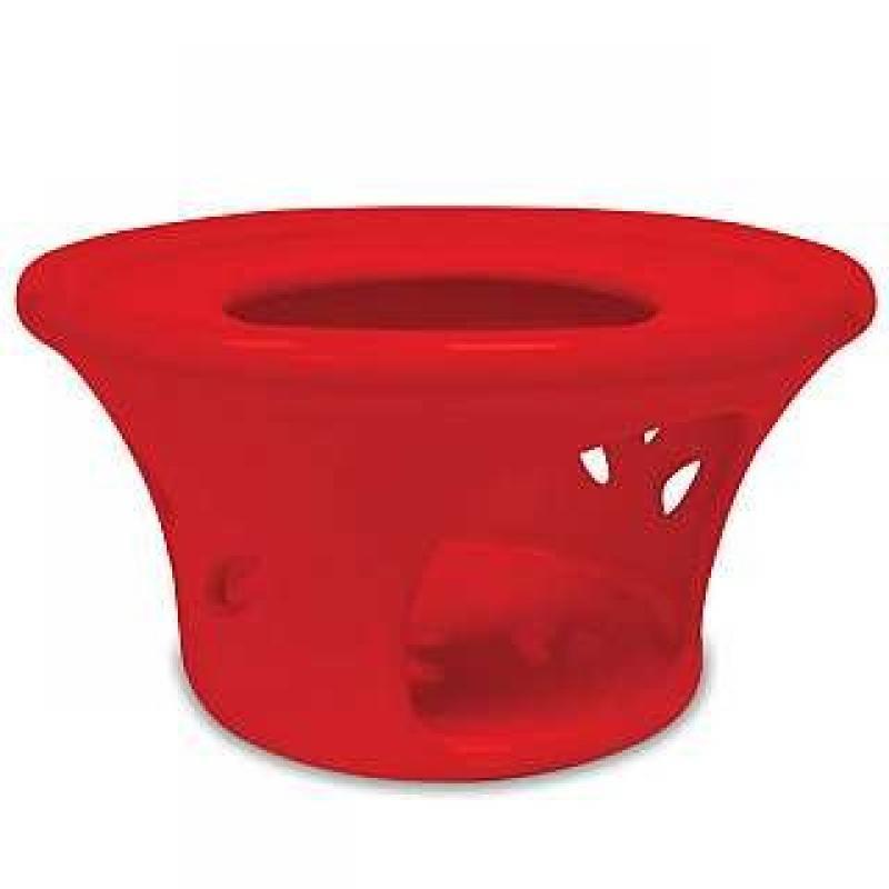 Amsterdam Metropolitan Tea Red Ceramic Teapot Warmer