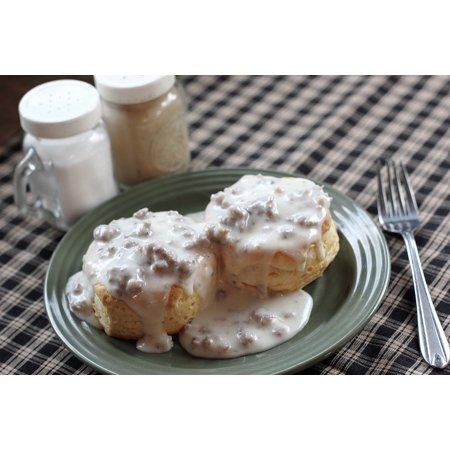 - Laminated Poster Gravy Food Biscuits Breakfast Biscuit Bread Poster Print 11 x 17