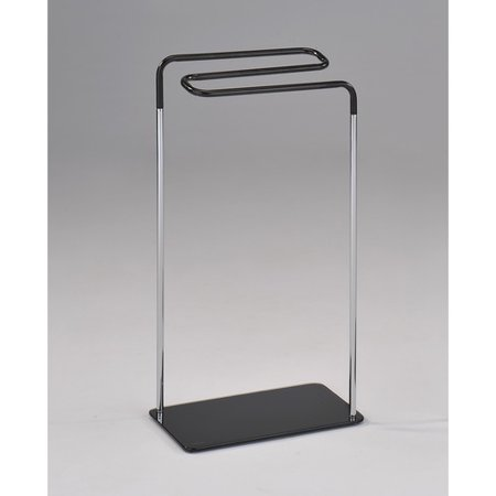Inroom designs free standing towel stand In room designs