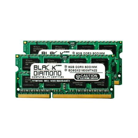 16GB 2X8GB RAM Memory for Compaq HP Omni 27-1057c Black Diamond Memory Module DDR3 SO-DIMM 204pin PC3-12800 1600MHz Upgrade